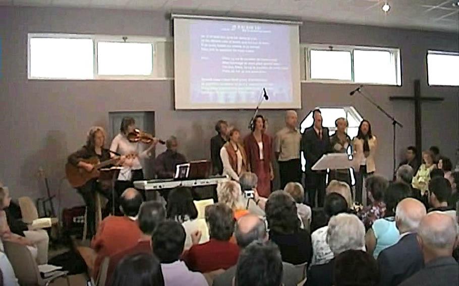 Culte d'inauguration 2005