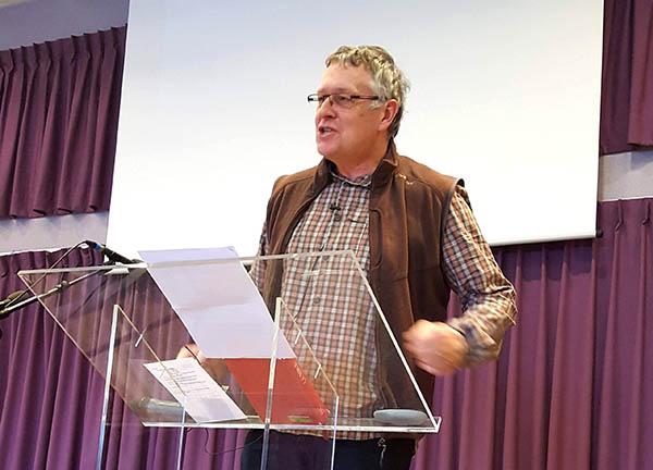 Pierre Ketterer en chaire
